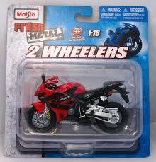 honda cbr two wheeler buy maisto fresh 2 metal wheelers honda cbr 600rr red 1 18