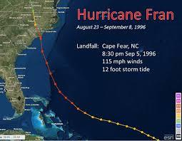 hurricane fran september 5 1996