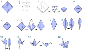 origami crane 9 png
