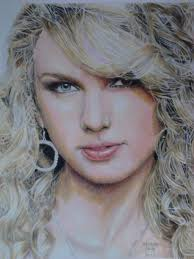 colored pencil drawing of taylor swift by eduardo luiz on deviantart