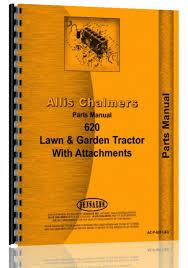 allis chalmers 620 lawn u0026 garden tractor parts manual farm