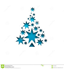 white blue christmas tree christmas lights decoration