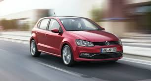 volkswagen polo red volkswagen polo facelift revealed three cylinder engines join