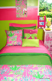 Pink And Green Bedroom - inspiration pink and green bedding cute interior home