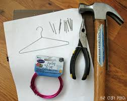 the craft patch diy wire hangers for doll clothes