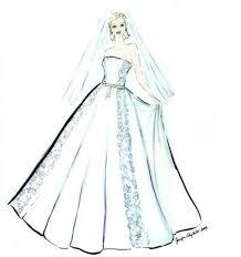 wedding gown sketch dahl wedding company u0027s weblog