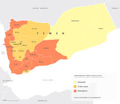 where is yemen on the map mapping the yemen conflict european council on foreign relations