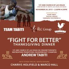 southern style thanksgiving dinner mayweather promotions boxer andrew