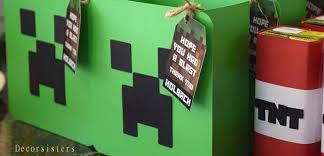 minecraft goody bags kara s party ideas detailed minecraft birthday party kara s