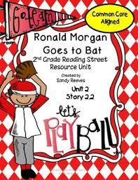 ronald morgan goes to bat reading street 2nd grade common core aligned