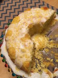lemon cream cheese bundt cake with lemon glaze penny u0027s food blog