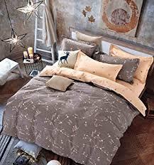 Duvet Cover Sheets Amazon Com Swanson Beddings Leafy Vines 3 Piece 100 Cotton