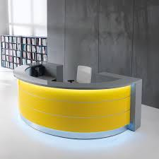 Used Curved Reception Desk Office Table Curved Glass Reception Desk Curved Reception Desk