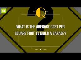 building material cost calculator estimator 1 99 26 57 what is the average cost per square foot to build a garage youtube