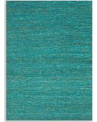 spectacular deal on aqua deca flat woven jute rug blue 3 u0027 x 5