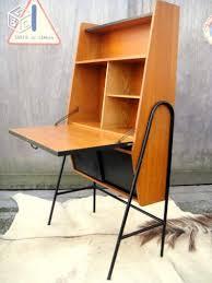 bureau secr騁aire meuble bureau secrétaire vintage 1950 dlg guariche hitier bureau