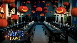 harry potter asmr halloween at the great hall hd ambient sound