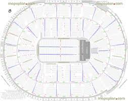 United Center Floor Plan Sap Center Seating Chart With Seat Numbers Chicago United Center