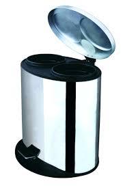 bathroom bathroom wastebasket with lid trash cans bed bath