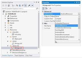 xamarin layout file android resource basics xamarin microsoft docs
