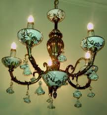 porcelain chandelier roses porcelain chandelier