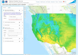 Wildfire Map Noaa by Weather Forecast Map Western Us Globalinter Co