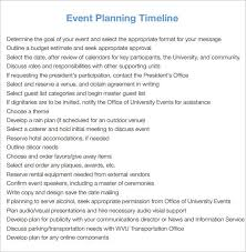 event timeline event timeline template free pdf download 9 event