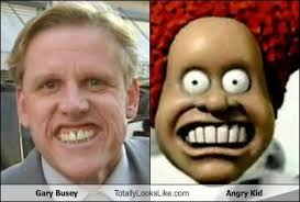 Angry Kid Meme - gary busey totally looks like angry kid cheezburger funny memes