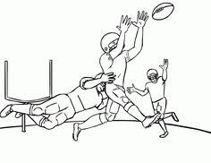 football coloring page work nfl pinterest