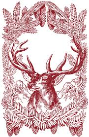 christmas deer free vintage christmas pictures deer the graphics fairy