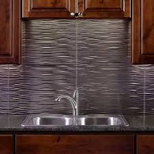 kitchen backsplash tin new metal wall tiles for kitchen gl kitchen design