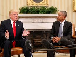 Trump In The Oval Office Obama U0027encouraged U0027 After Oval Office Meeting With Trump