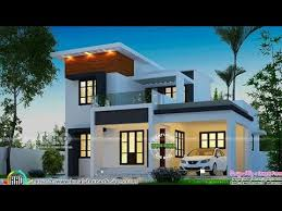 Kerala home design  Double Floor House for 15 lakh Modern Home