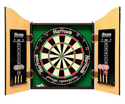 da12020039 dart board with cabinet full set knight shot dubai