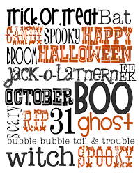 lovely little snippets happy october free halloween printable