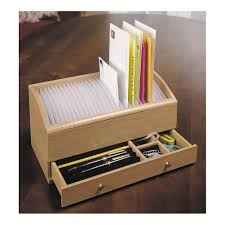 Desk Organizer Sorter by 31 Day Slots Letter Bill Drawer Pens Date Sorter Mail Organizer