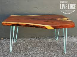coffee table coffee tables kentucky liveedge natural wood table