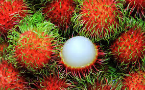 fruit similar to lychee what the heck is a rambutan and how do you eat it