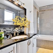 Bathroom Vanity Plus Interior Gorgeous Bathroom Decoration With Self Adhesive Wall