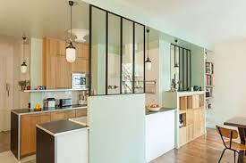 ouverture entre cuisine et salle à manger 50 verrières déco pour la cuisine la chambre ou la salle de bain