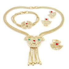 26 most wanted wonderful gold jewelry sets for weddings eternity
