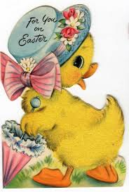 antique easter decorations vintage easter card reminds me of what carrie would ve given duane