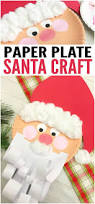 jolly santa paper plate craft easy peasy and fun