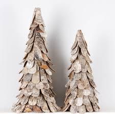 wooden christmas tree alternative birch christmas trees ella