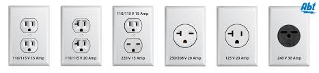 component us outlet voltage ac power plugs and sockets wikipedia