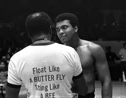 float like a butterfly sting like a bee his can t hit what