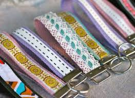 craft ribbon craft of the day make a ribbon wristlet key fob huffpost