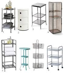 small storage table for bathroom high low 3 tier bathroom storage bathroom storage small spaces