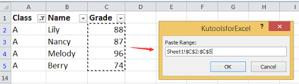 how to paste values to visible filtered cells only in excel
