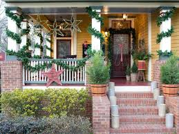 festive ways to boost your home u0027s holiday curb appeal hgtv